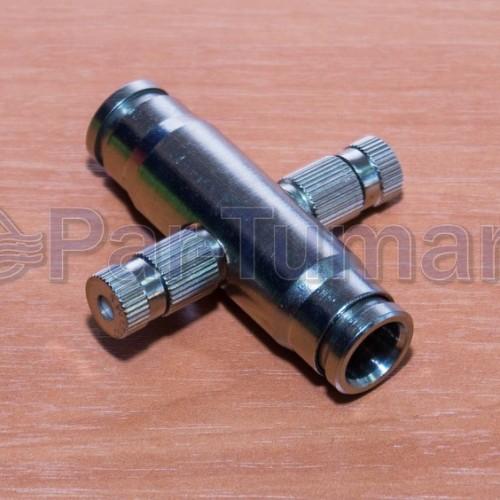 Форсункодержатель для 2-х форсунок на 180 или 120 градусов push lock